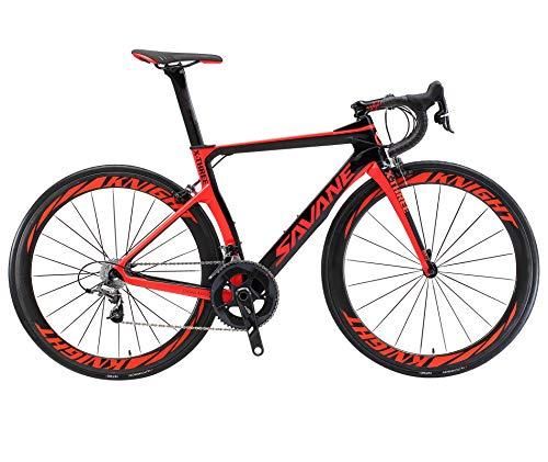 SAVADECK Phantom3.0 Carbon Rennrad 700C Kohlefaser Rennräder Vollcarbon Fahrrad mit Shimano Ultegra...