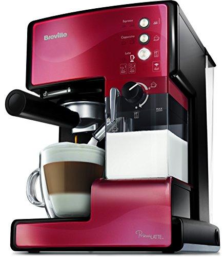 Breville PrimaLatte Kaffee- und Espressomaschine | italienische Pumpe mit 15 Bar | fr Kaffeepulver...