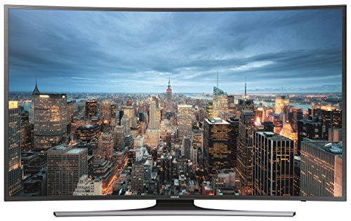 Samsung JU6550 138 cm (55 Zoll) Curved Fernseher (Ultra HD, Triple Tuner, Smart TV)