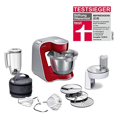 Bosch MUM5 CreationLine Küchenmaschine MUM58720, vielseitig einsetzbar, große Edelstahl-Schüsssel...