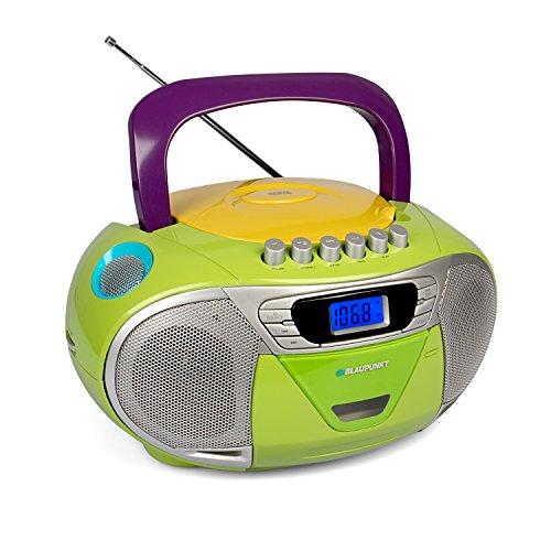 BLAUPUNKT Boombox 11 PLL, tragbares Kinder CD-Radio, Hörbuch Funktion, Kassettenrekorder inklusive...