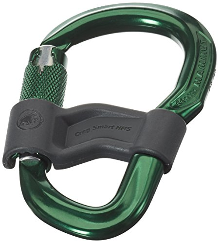 Mammut Abseilgerät Crag Smart HMS Karabiner, Safety Gate, One Size