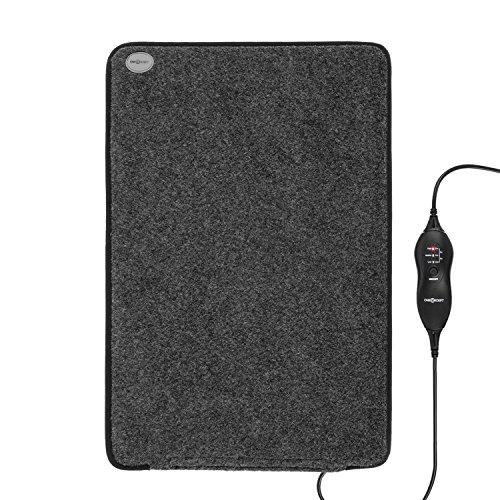 OneConcept Magic-Carpet DX - Heizmatte, Heizteppich, elektrisch, 100 Watt, 3 Heizstufen, Timer...