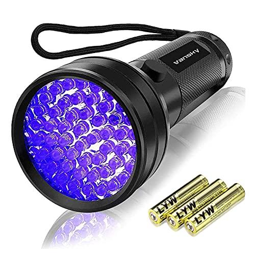 Vansky UV Schwarzlicht Taschenlampe mit 51 LEDs   Haustiere Urin-Detektor für Eingetrocknete...