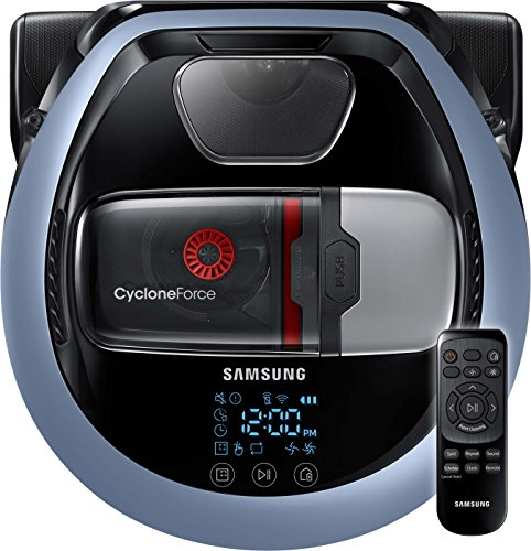 Samsung VR7000 VR1DM7020UH/EG POWERbot Saugroboter (80W extra starke Saugkraft, ideal für Teppiche...