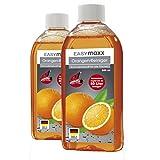 EASYmaxx Reinigungsmittel Allzweckreiniger Konzentrat original Orangenreiniger 3-tlg. 2x 500ml inkl....