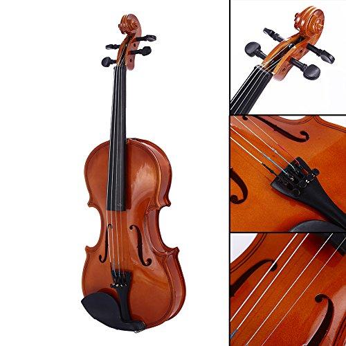 Bolange 1/8 Größe akustische Violine Geige Kit Set Rotlicht für Studenten Starter Anfänger...