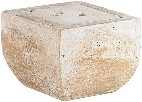 Carlo Milano Terassenfeuer: Terracotta-Dekofeuer Scodella für Bio-Ethanol (Gartenkamin)