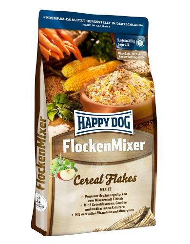 Happy Dog 02162 - Premium Flocken Mixer - Flocken zum Mischen mit Fleisch für ausgewachsene Hunde -...
