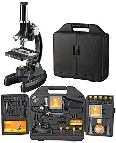 National Geographic Einsteiger Mikroskop 300-1200x mit batteriebetriebener Beleuchtung,...