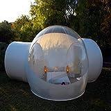 RISHENG Windundurchlässiges transparentes pvc zelte/Aufblasbare Bubble Zelt Haus Dome Outdoor Clear...