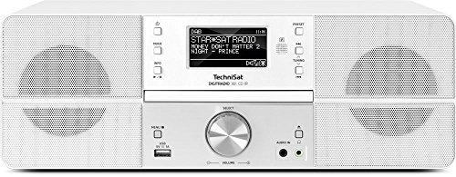 TechniSat DIGITRADIO 361 CD IR - DAB+/Internetradio (WLAN, LAN, DAB, UKW, CD-Player, Bluetooth,...