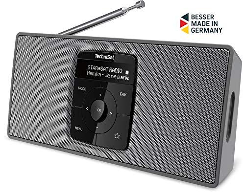 TechniSat DIGITRADIO 2 S – Tragbares DAB+/UKW-Stereo-Radio (mit Bluetooth Audiostreaming und...