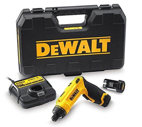 DeWalt Akku-Knickschrauber (7.2 V, 1.0Ah, Zwei-Positions-Handgriff (Pistolengriff und Stabgriff),...