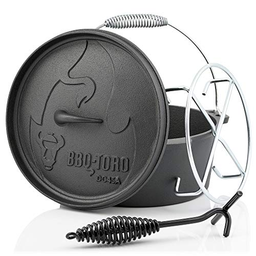 BBQ-Toro Dutch Oven Alpha Serie I bereits eingebrannt - preseasoned I Verschiedene Größen I...