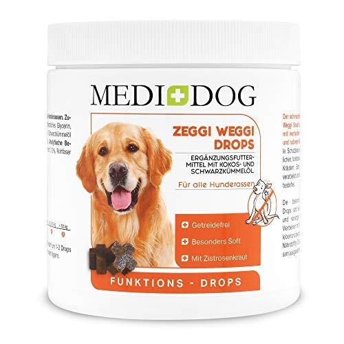 Zeggi Weggi 150g Premium Schutz Drops für Hunde, Kaltgepresst und Getreidefrei, mit...