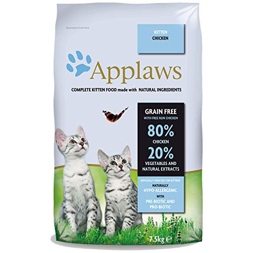 Applaws Katze Trockenfutter Kitten, 1er Pack (1 x 7,5 kg)