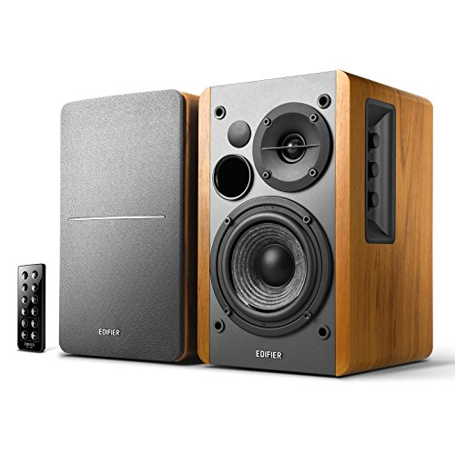 Edifier Studio R1280DB - 2.0 Bluetooth-Lautsprechersystem (42 Watt), Regallautsprecher mit...