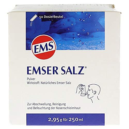 Emser Salz zur Verwendung mit der Emser Nasendusche – Bei Erkältung als Alternative zu Nasenspray...