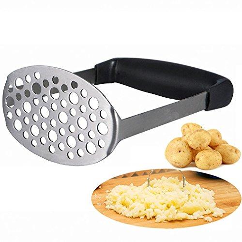 Kartoffelstampfer - Smaier Glatte Kartoffelschäler Kartoffelpresse aus rostfreiem Stahl Entworfen...