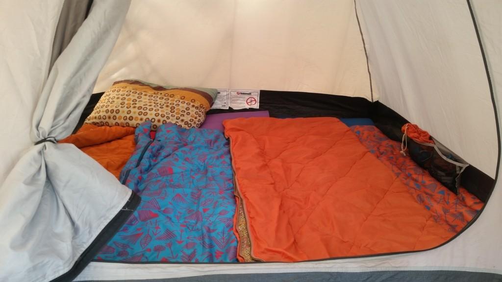 Sommerschlafsack Outdoor Aktivitäten