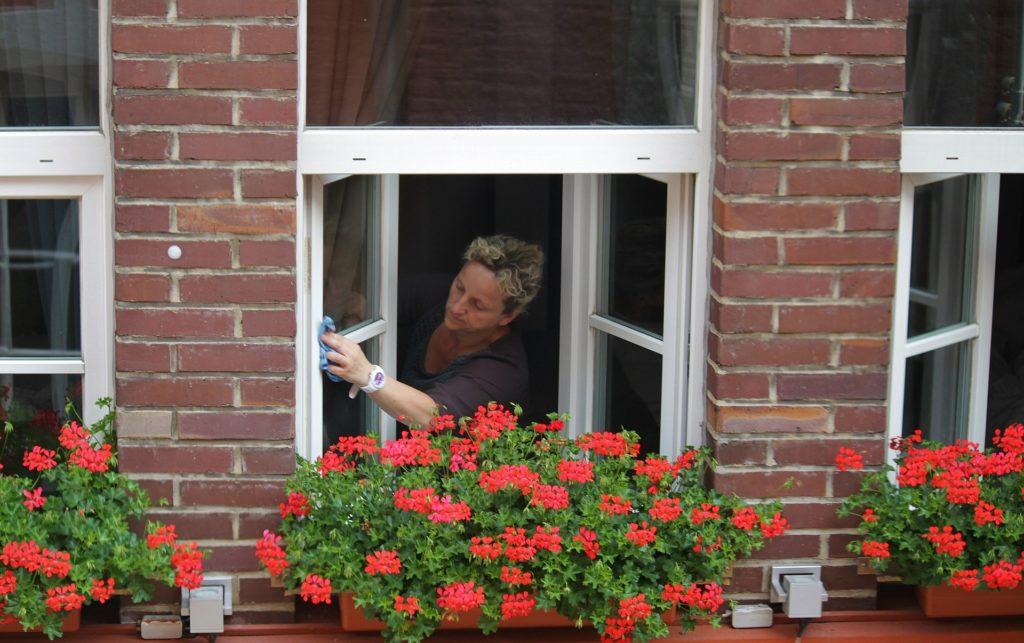 Fensterputzroboter schwer zugängliche Stellen