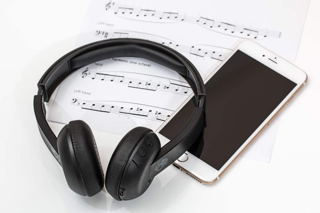 kabellose Kopfhörer Funk Übertragung