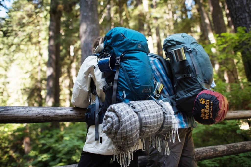 Backpackerrucksack für lange Reisen