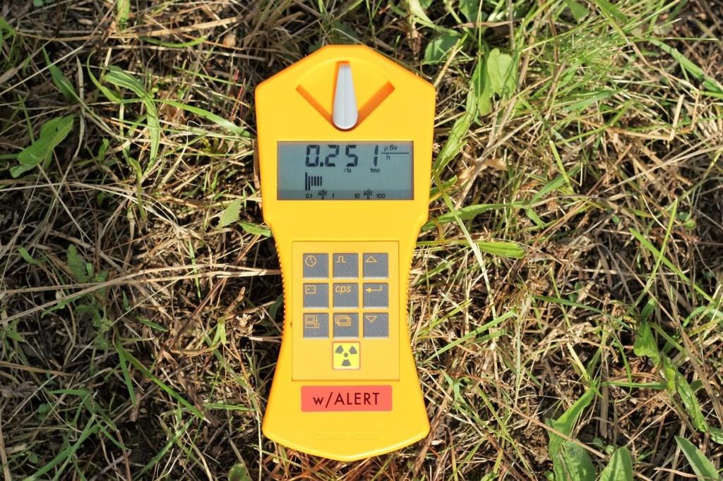 Geigerzähler Strahlungen messen