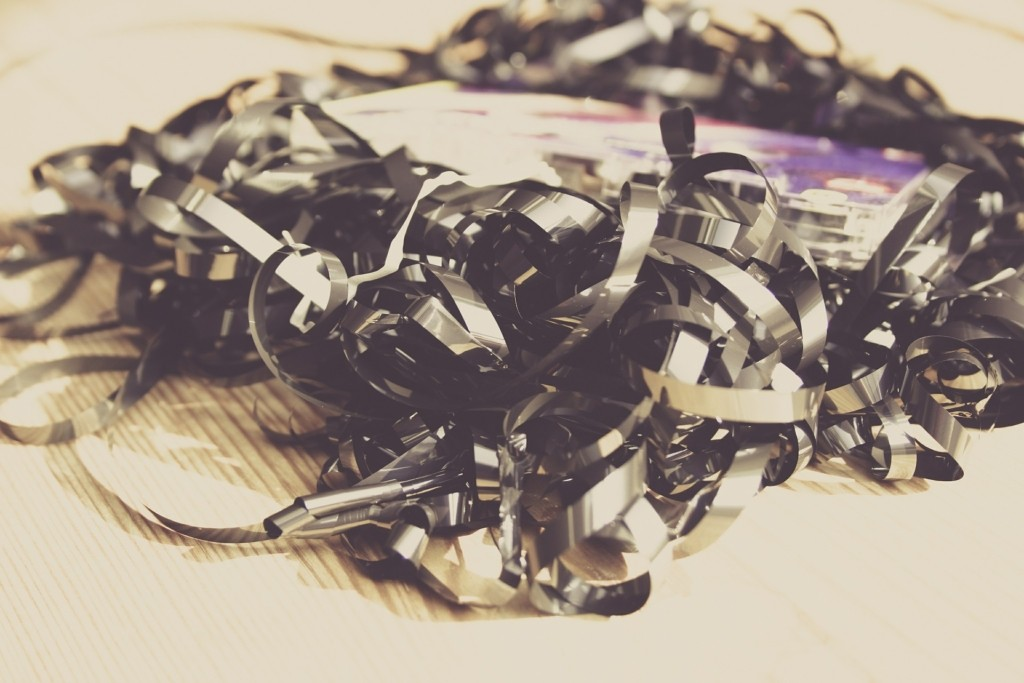 Kinderkassettenrecorder Kabelsalat
