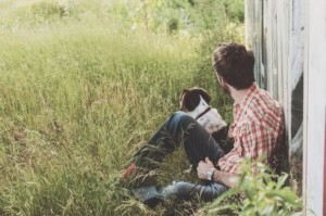 Hundefutterbeutel Beziehung zwischen Mensch und Hund aufbauen
