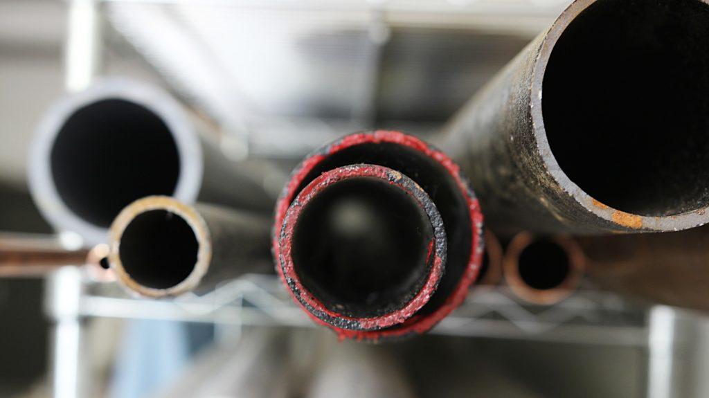 Wasserenthärtungsanlage Rohre schonen