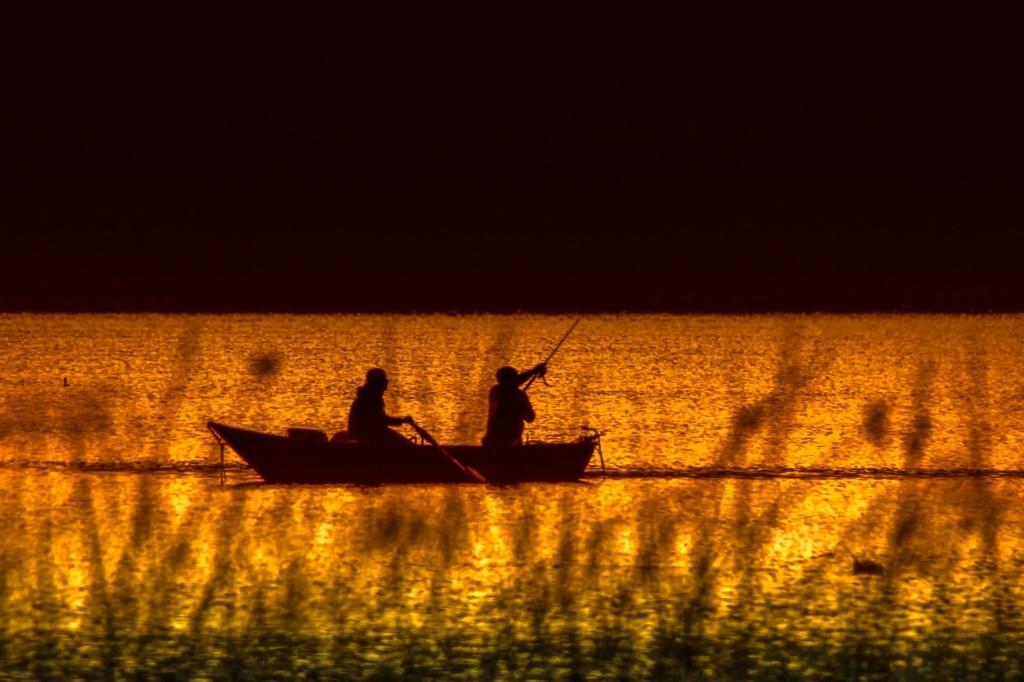 Angelboot Schlauchboot angeln