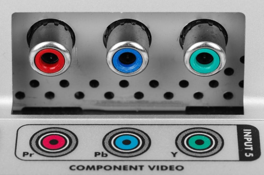 Cinch Kabel Farben stehen fuer unterschiedliche Anschluesse