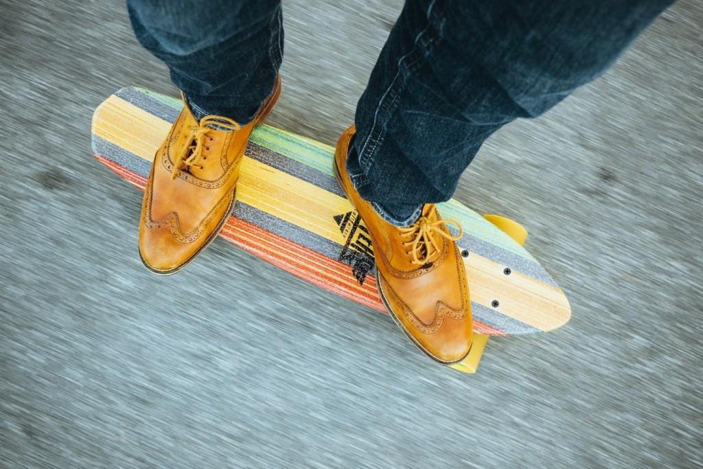 klasissisches Skateboard