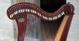 Harfe-Zupfinstrument