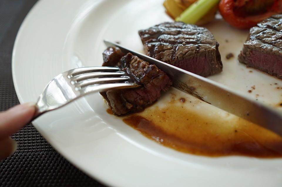 Steakmesser im Glattschliff