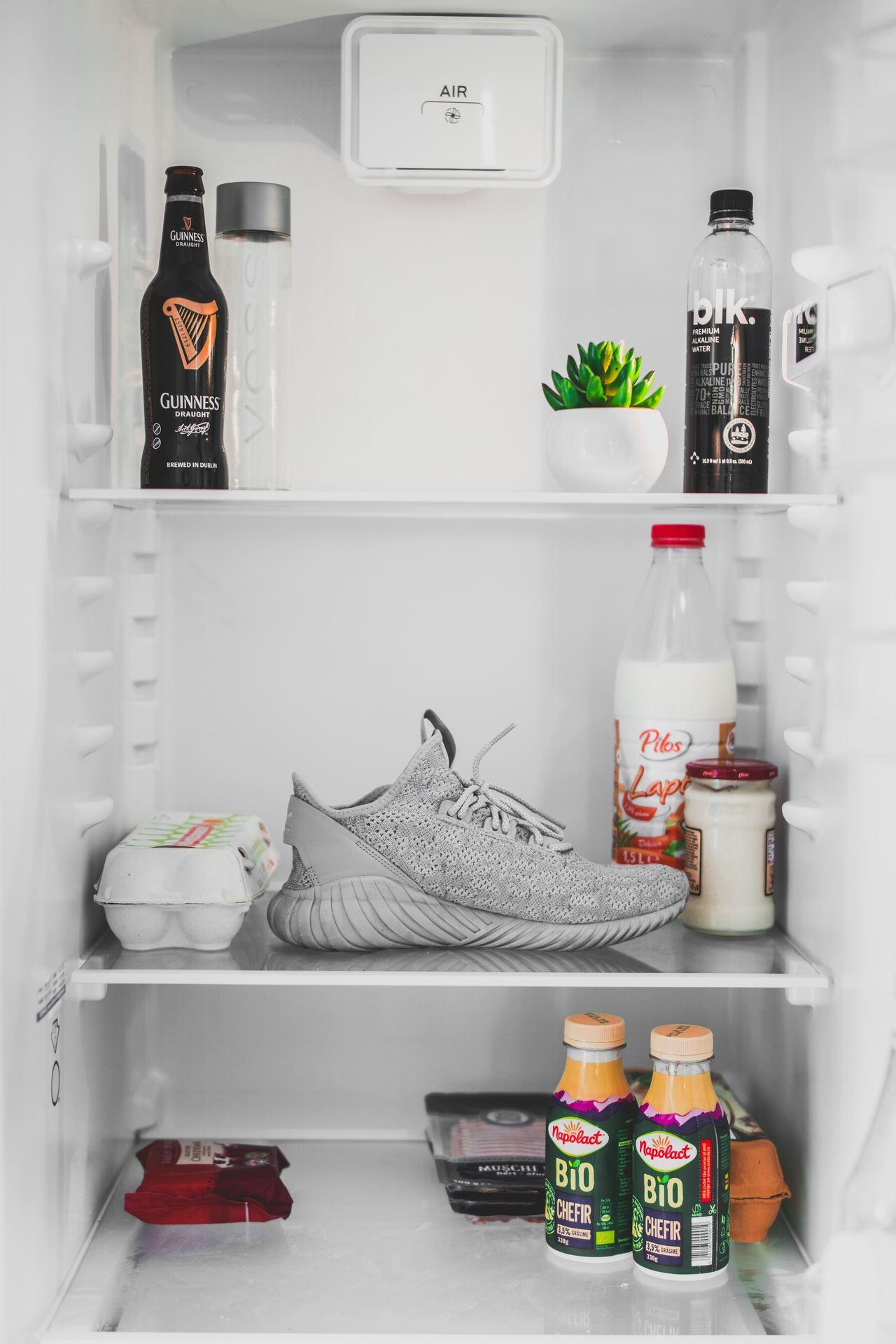 Kühlschrank mit Kühlschrankthermometer