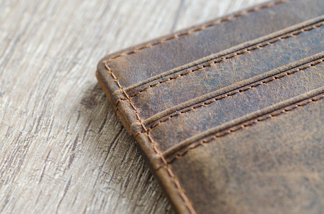 Leder Herren Brieftaschen feines Leder