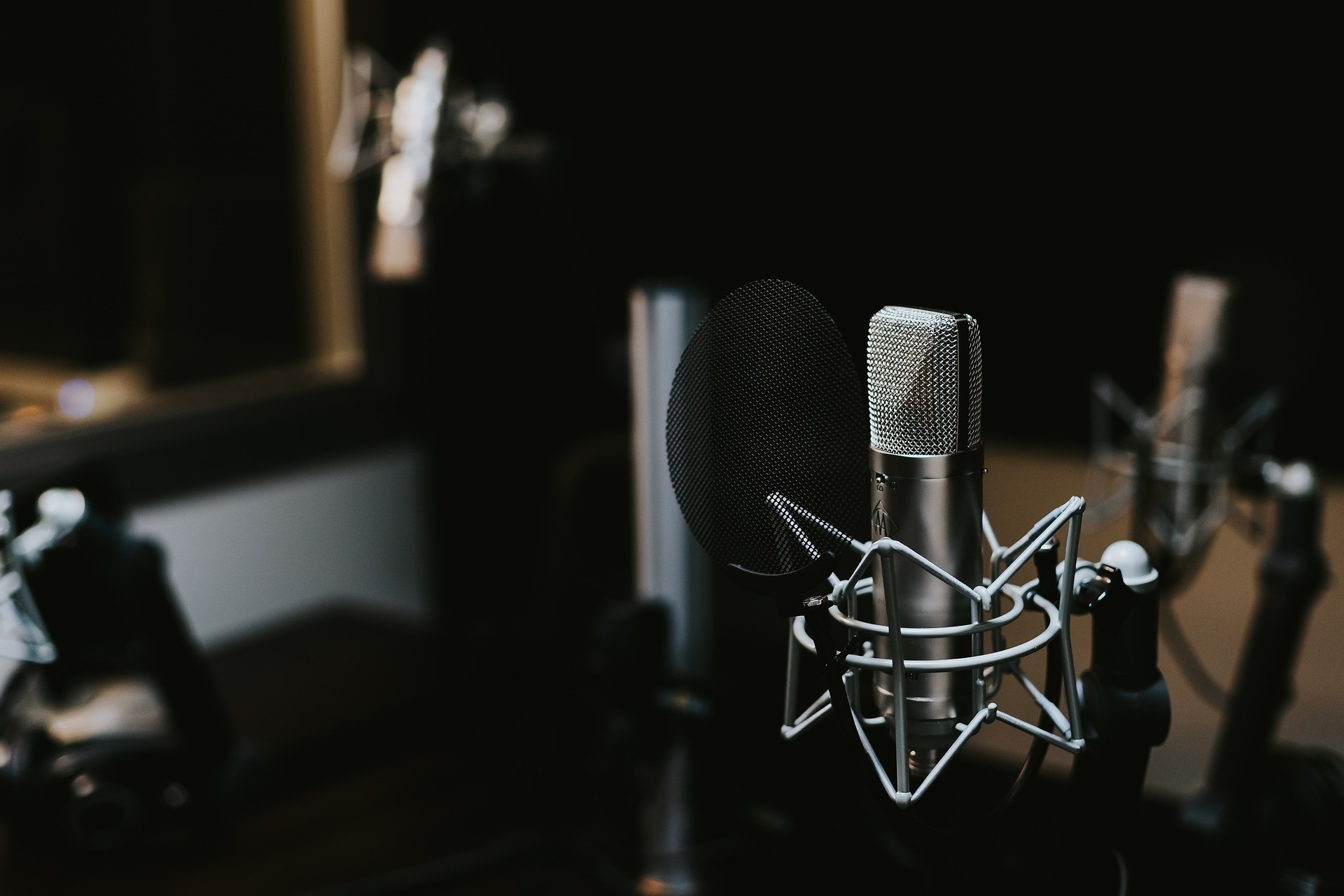 Studio Mikrofon gute Aufnahme