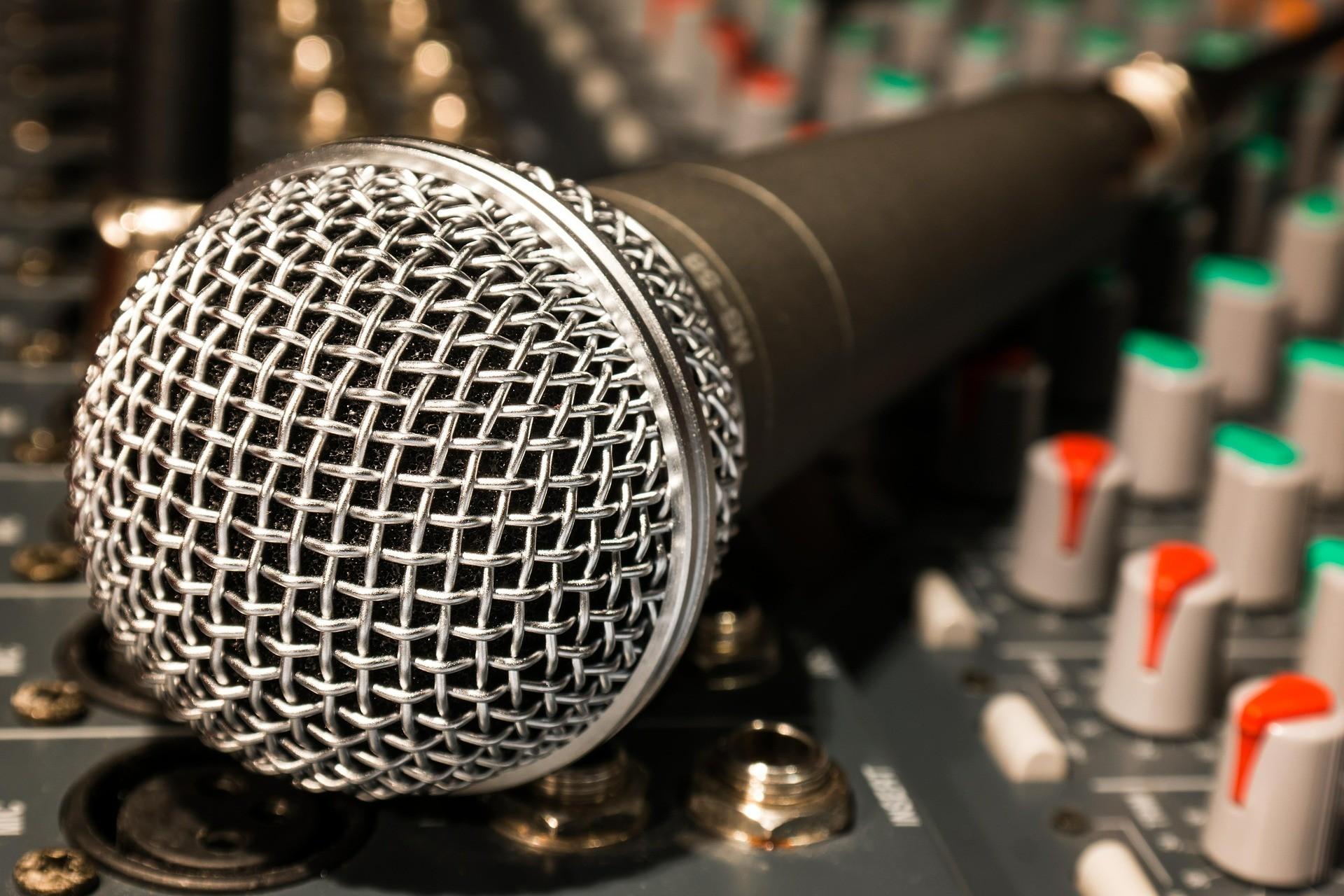 Studio Mikrofon ist die Richtcharakteristik