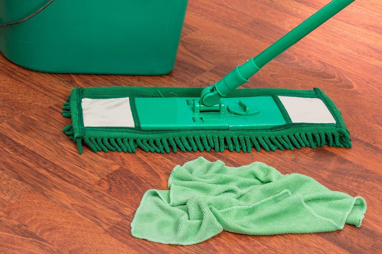 Ein Waschsauger ist eine Kombination von Staubsauger und Wischmop.