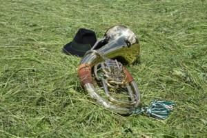 Horn schwieriges Musikintrument