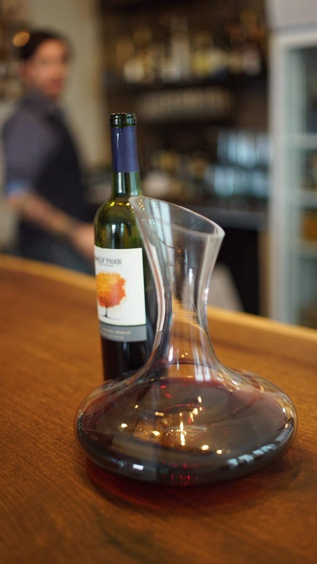Dekanter sorgen für mehr Sauerstoff im Wein.