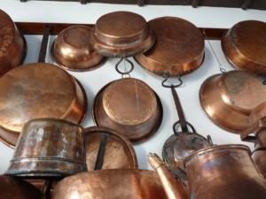 Kupferpfanne Groesse und Form