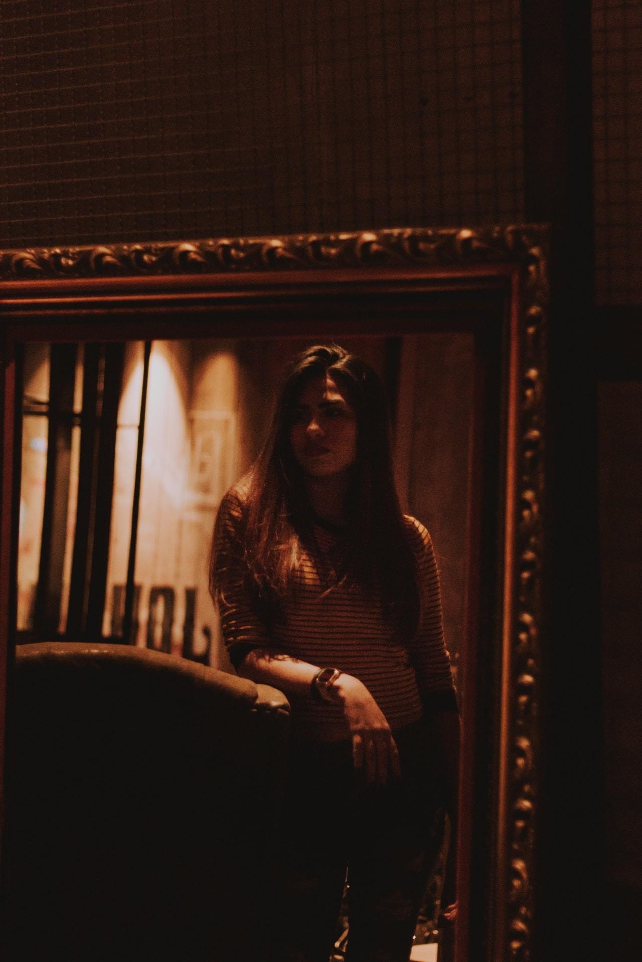 Barockspiegel können durch ihre schönen Fazierungen einen Raum aufwerten.