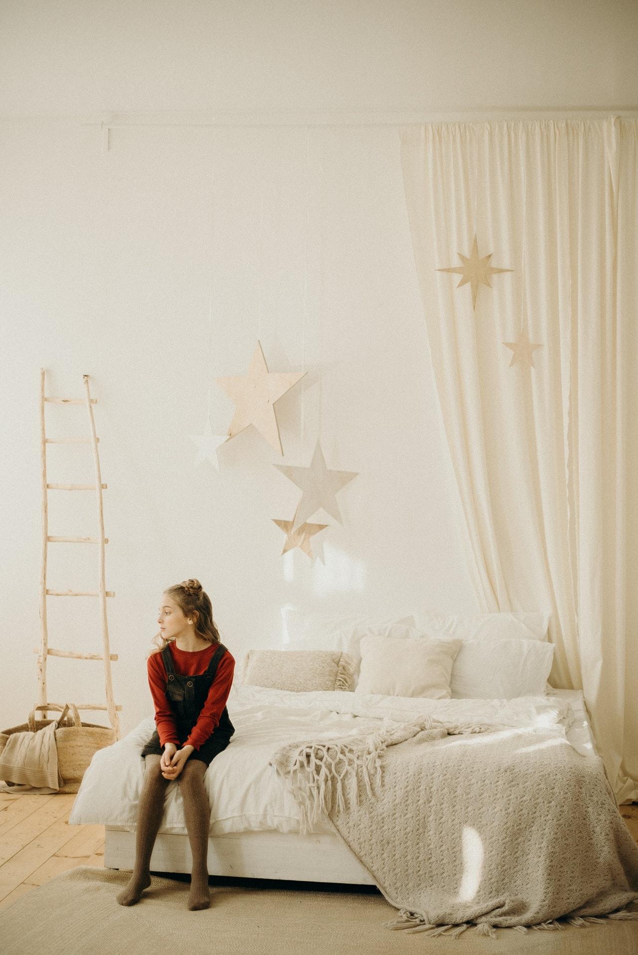 Bettwäsche in Übergröße macht besonders bei großen Betten Sinn.