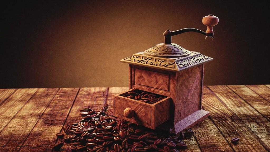 Kaffeemühle und damit Kaffee selber machen