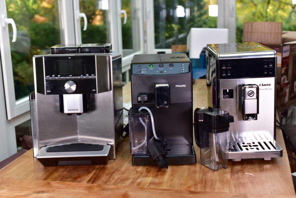 3 Kaffeevollautomaten