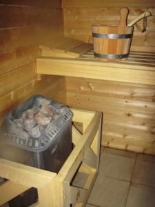 Eine Mini Sauna funktioniert genauso wie eine normale Sauna.